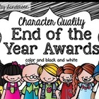 End of the Year Awards {character traits}