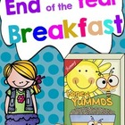 End of the Year Breakfast Student Packet