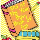 End of the Year Busy Book {Early Finishers}