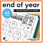 End of the Year Celebration Book (Second Grade)