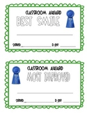 End of the Year - Class Awards