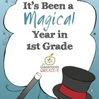End of the Year Memory Book: 1st Grade {Magic Theme}
