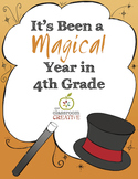 End of the Year Class Book: 4th Grade {Magic Theme}