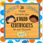 End-of-the-Year Classroom Award Certificates