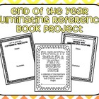End of the Year, Culminating Reference Book Project- Math