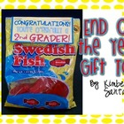End of the Year Gift {You&#039;re O.fish.ally a __ Grader!}