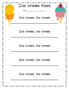 End of the Year Ice Cream Day Freebie!