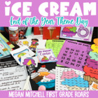 End of the Year Ice Cream Day!