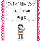 End of the Year Ice Cream Glyph
