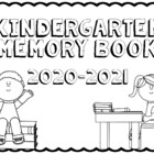 End of the Year Memory Book {Kindergarten}
