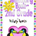 End of the Year Memory Book-Second Grade-Rain Forest & Mon