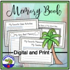 End of the Year Memory Book for Any Elementary Grade