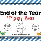 End of the Year Memory Books, grades 1-3 - With Yearly Updates