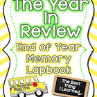End of the Year Memory Lapbook - The Year in Review