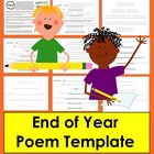 End of the Year Original Student Poem