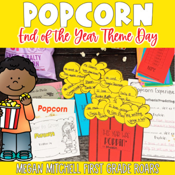End of the Year Popcorn and Movie Day!