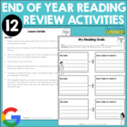 End of the Year Reading Review {12 Detailed Lessons for Gr