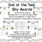 "End of the Year ""Silly"" Awards"