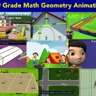 End of year review of geometry concepts-{Common Core activ