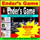 Ender's Game, Teacher Lessons PPT