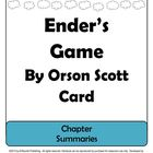 Ender's Game by Orson Scott Card Chapter Summaries
