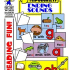 Ending Sounds Flip Booklets