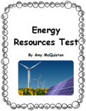 Energy Resources Test