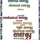 Energy Study Guide and Quiz- Third Grade 