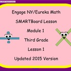 Engage NY Smart Board Lesson 3rd Grade Math Module 1 Lesson 1
