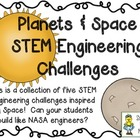 Engineering Planets and Space: STEM Engineering Challenges