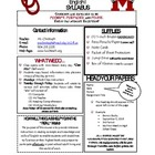 English 9 Syllabus TEMPLATE