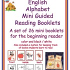 English Alphabet Mini Guided Reading Books