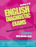 English Diagnostic and Baseline Exams -- Common Core