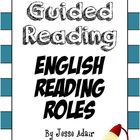 English Guided Reading 101: Literacy Reading Role Printables