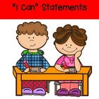 "English Language Arts Common Core ""I Can Statements"" for 1"