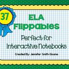 English Language Arts Flippables (Foldables) for All Grade Levels
