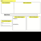 English, Science, History Graphic Organizer for Taking Not