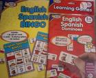 English Spanish Bingo and English Spanish Dominoes
