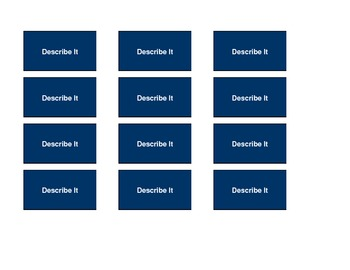 English Speaking & Listening Game 'Describe It'