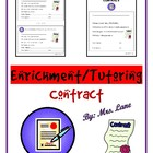 Enrichment/Tutoring Contract