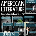 Entire Semester of American Literature Activities & Assess