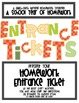 Entrance Tickets! Short Homework Writing Assessments