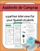 Entrevista en espanol  Communicative Spanish Activity Pers