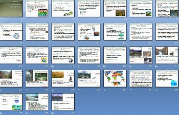 Environment Ecology Smartboard Notebook Presentation Lesson Plan
