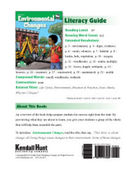 Environmental Changes Literacy Guide