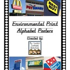 Environmental Print Alphabet Posters D&#039;Nealian