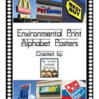 Environmental Print Alphabet Posters