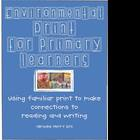 Environmental Print for Primary Learners