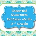 Envision Math Essential Questions