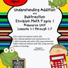 Envision Topic 1 Add and Subtract 2nd Grade Common Core Aligned